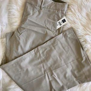 NWT Gap trouser, beige, 10 ankle